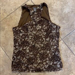 Ann Taylor CL sleeveless top